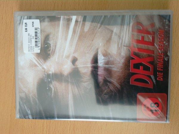 [MediaMarkt Flensburg] Dexter Staffel 8 DVD