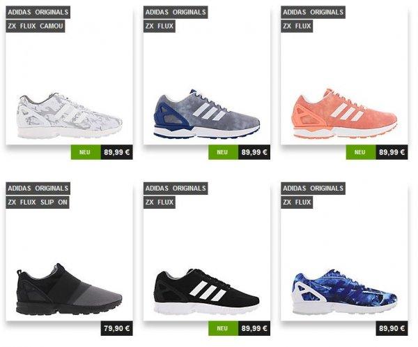 Adidas Originals ZX Flux ab 67,49 € inkl. Versand (38 Verschiedene Modelle Herren&Frauen)