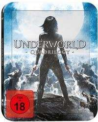 Underworld 1-4 (Blu-ray) SteelBook für 26,40€ @Thalia.de