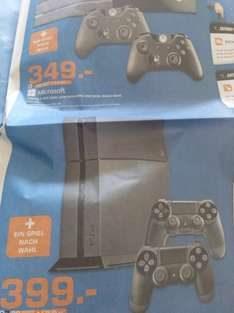 (Lokal Mannheim) XBOX ONE/ PS4, 2ter Controller + SnW