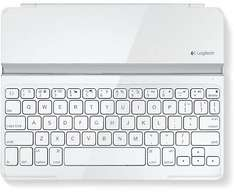 Logitech Ultrathin Magnetic Keyboard Cover Weiß - Für iPad/2/3/4 für 39,99 @ ebay.de