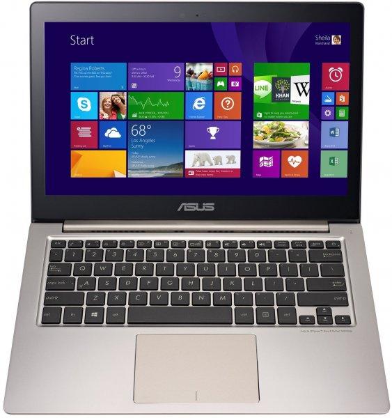 Asus Zenbook UX303LA-R4286H 33,8 cm (13,3 Zoll) Notebook (Intel Core i5 5200U 2,2GHz, 8GB RAM, 256GB SSD, Intel HD 5500,Win 8.1) silber 799€ @Amazon