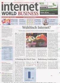 """4 kostenlose Ausgaben """"Internet World Business"""" statt 21,60 €"""