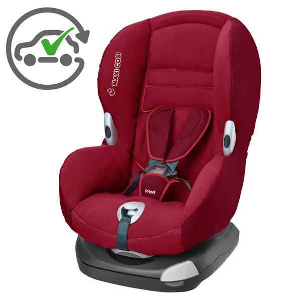 Maxi-Cosi Priori XP Kinderautositz 64106181 Gruppe 1 (9-18 kg, 9M bis 3.5J, kostenloser Austausch bei Unfall) in Farben: Walnut Brown, Shadow red,Modern Black, Phantom, Blue Night inkl. Versand für 88,99€ @Babymarkt.de