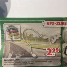 "Ladekabel ""4 in 1"" bei Hagebaumarkt"