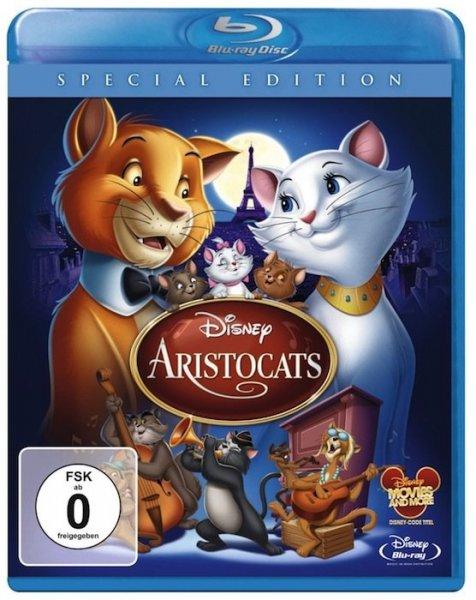 (Real.de) (BluRay) Aristocats, Ralph reicht's, Merida je 6,99€