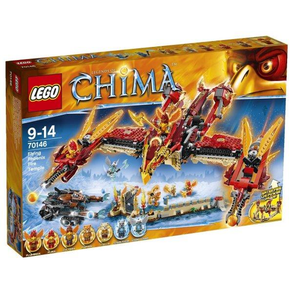 LEGO Legends of Chima Phoenix Fliegender Feuertempel 70146 Versandkostenfrei für 60,74€ @Galeria-Kaufhof.de