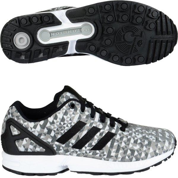 Adidas ZX Flux Weave Low-Sneaker Weiß Schwarz (aktuell Gr:42, 44, 46, 48) für 58,84€ inkl. Versand + andere Farben und Größen für ca. ~62€ @hoodboyz.de