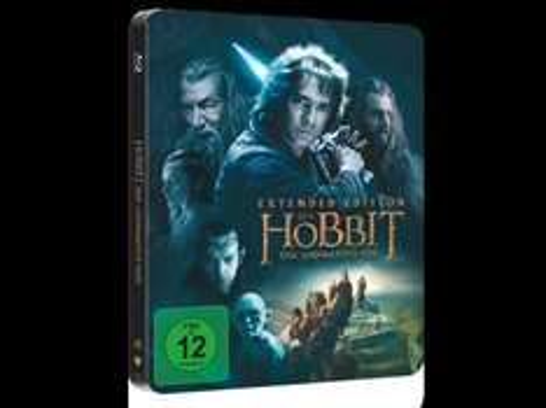 [Blu-Ray] Hobbit: Eine unerwartete Reise - Extended Edition (Steelbook + UV) 12€ @Saturn vsk-frei