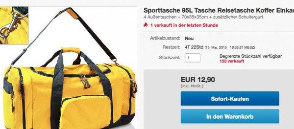 Große Reisetasche auf WOW eBay