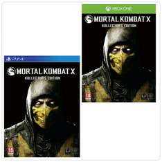 [zavvi.de] Mortal Kombat X - Kollector's Edition - PS4 & Xbox One für 99,19€