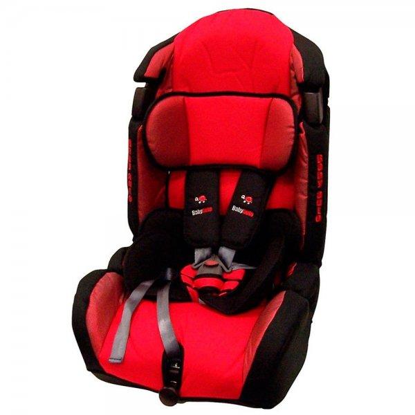 [Amazon] KULIXKA Kinderautositz in der Farbe Rot. Für Gruppe 1-2-3, für Kinder ab 9 kg bis 18 kg