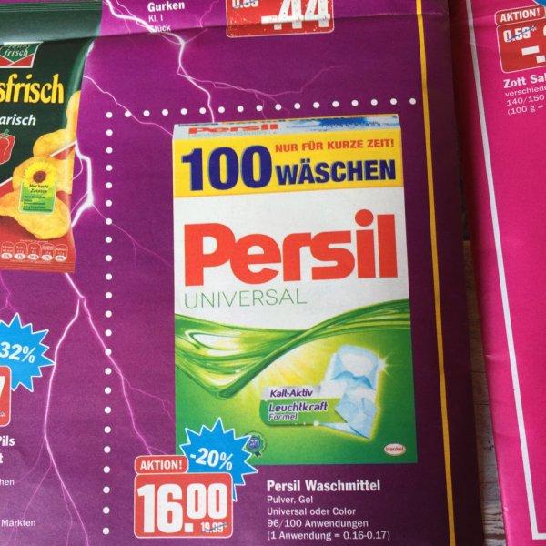 Persil Gel oder Puver 96 bzw.100 Anwendungen bei AEZ in Fürstenfeldbruck