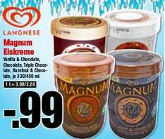 [KRÜMET] Ab Dienstag den 12.05.: Magnum Eisbecher 330/450ml für 0,99€