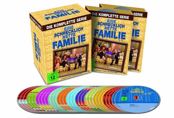 (saturn.de) Eine schrecklich nette Familie - Staffel 1 - 11 (Komplett) auf DVD für 44,90€ + 1,99€ VSK