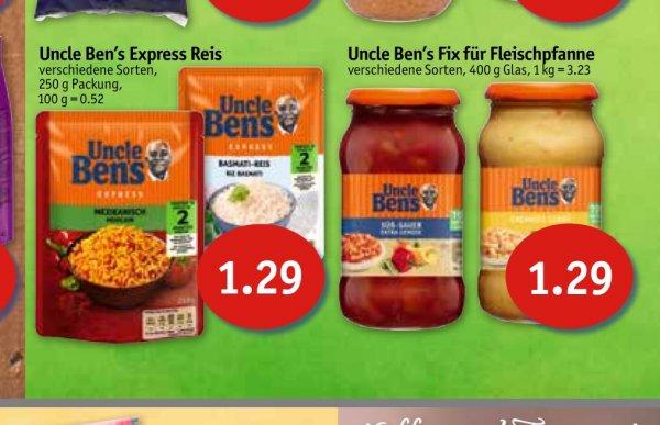 Sky Nord KW20  Uncle Bens Express Reis und Soßen für 29Cent