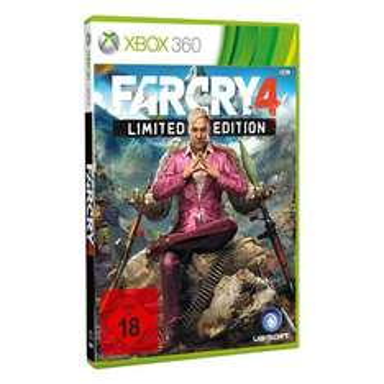 [Real] Far Cry 4: Limited Edition für Xbox 360 / PS3 für 29,95€ + 10fach Paybackpunkte