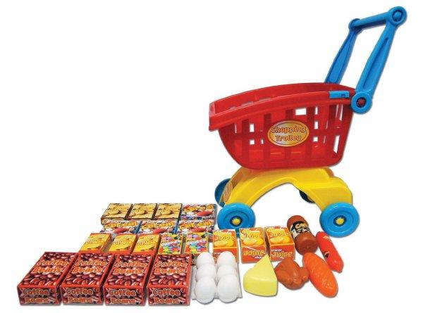 Kinder-Einkaufswagen & diversen Einkaufsartikel für 8,70€ bei Amazon (Prime)