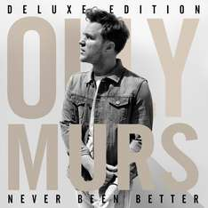 [Google Play] Album der Woche: Olly Murs - Never Been Better (Deluxe Edition) mit 17 Songs für 2,99€!