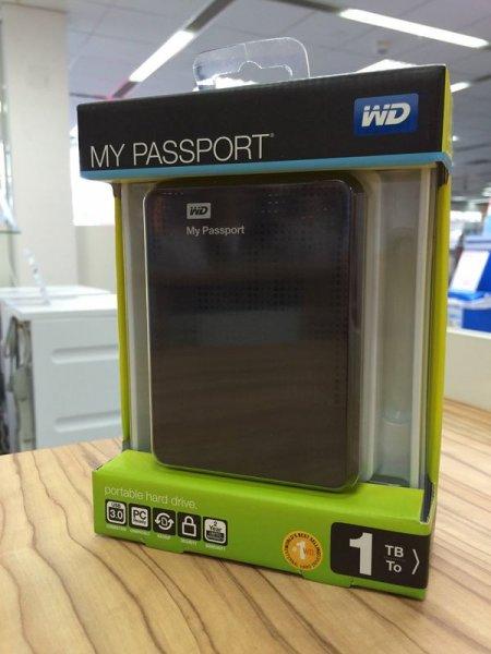 [lokal Expert Neuss] WD My Passport Mobil USB3.0 1TB Festplatte + 5L Bierfass für 50€
