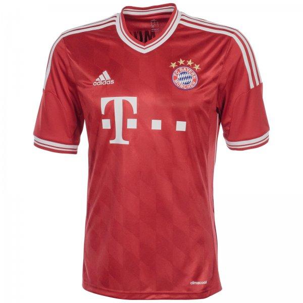 adidas Performance FC Bayern München Trikot Home 2013/2014 Herren Rot NEU für 29,95€ @eBay
