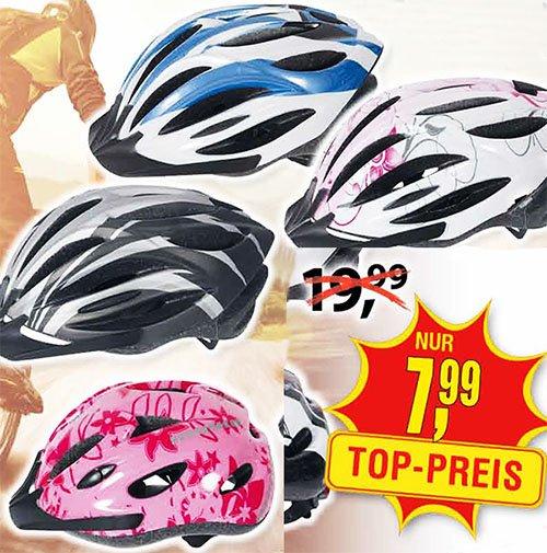 Hochwertige Farradhelme zum Top-Preis von nur 7,99€ [Centershop]
