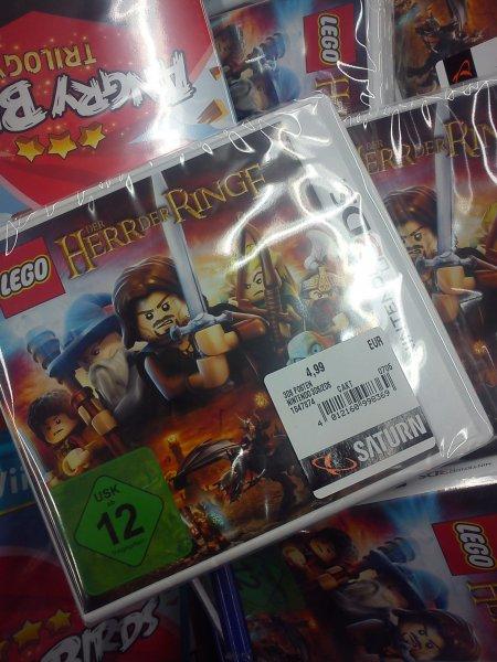 [Lokal] Berlin Saturn Alexanderplatz Lego Herr der Ringe Nintendo 3DS, Angry Birds: Trilogy  Wii U für je 4,99€