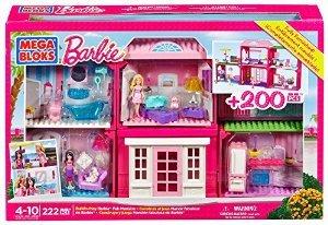 Barbie Bauen und Spielen Villa von Mega Bloks für 24,93€ statt 43,89 €, @Amazon prime