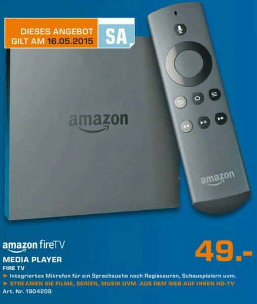 Ankündigung: Amazon Fire TV als Tagesangebot nur am 16.05.2015 (lokal Kassel & Baunatal)
