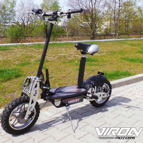 E-Scooter / Faltbarer Viron Elektro-Roller 1000 Watt für 380 € (Cold weil ohne Straßenzulassung)