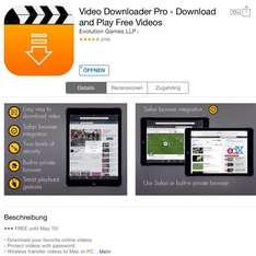 [IOS] Video Downloader Pro