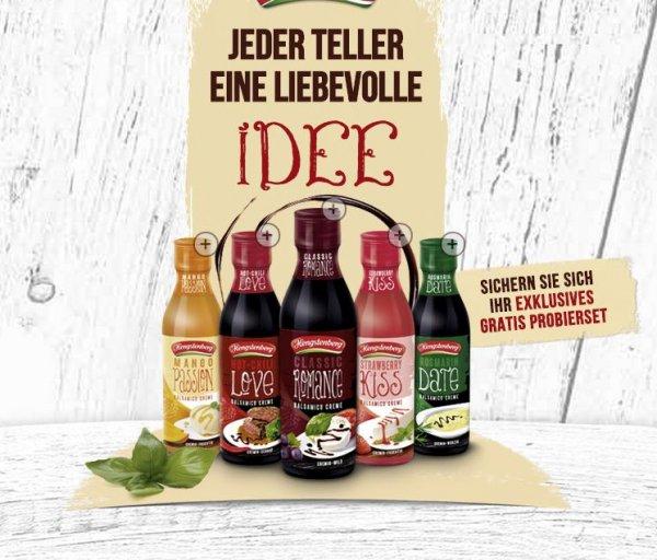 Gratis Proben von Hengstenberg Cremas | Lecker Balsamico!
