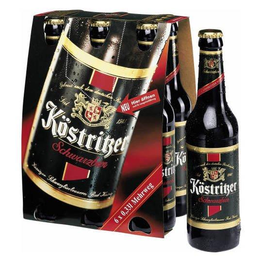 Coupies: 1,50€ auf Köstritzer Schwarzbier und Kellerbier