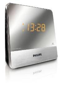 (WHD & Prime) Philips AJ 3231 Radiowecker (UKW-/MW-Tuner, 2 Weckzeiten) silber