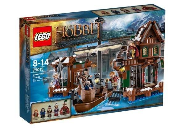 """[Buch.de] Lego """"Der Hobbit: Verfolgung auf dem Wasser"""" mit 5 Minifiguren (79013) für 55€"""