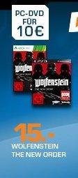 [Saturn.de] LateNightShopping.....Wolfenstein The New Order **PS3 und XBox 360**für je 15,-€ Versandkostenfrei..Diesmal bis zum 15.05
