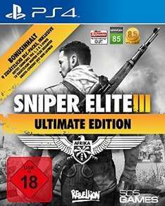 Sniper Elite 3 - Ultimate Edition für 19,99€ (PS4)