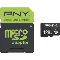 [Conrad] microSDXC PNY High Performance 128GB Class 10 / UHS 1 für 64,99€ + 5fache Paybackpunkte