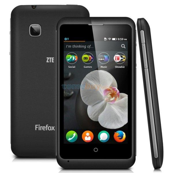 ZTE Open C, Einstiegs-Smartphone, Firefox OS, Android 4.4, Versand aus Deutschland für 29€ @comebuy