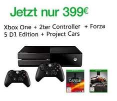 [Amazon] Xbox One + 2ter Controller + Forza 5 D1 Edition + Project Cars + Ori and the Blind Forest
