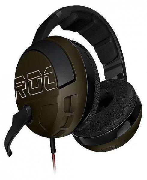 Roccat Kave XTD Desert Strike Stereo Premium Over-Ear Gaming Headset (50 mm Speaker, abnehmbares Mikrofon, 2 x 3,5 mm Klinke) @Amazonblitz