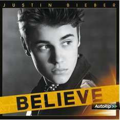 Justin Bieber - Believe (Audio-CD) + MP3-Version für 4,99€ bei Amazon