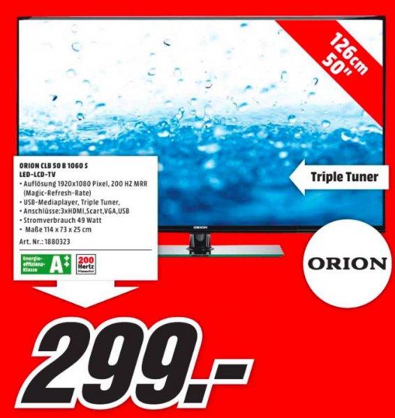 [Lokal Media Markt Erlangen] Orion CLB50B1060S (50 Zoll, 200Hz) mit Triple Tuner für 299€