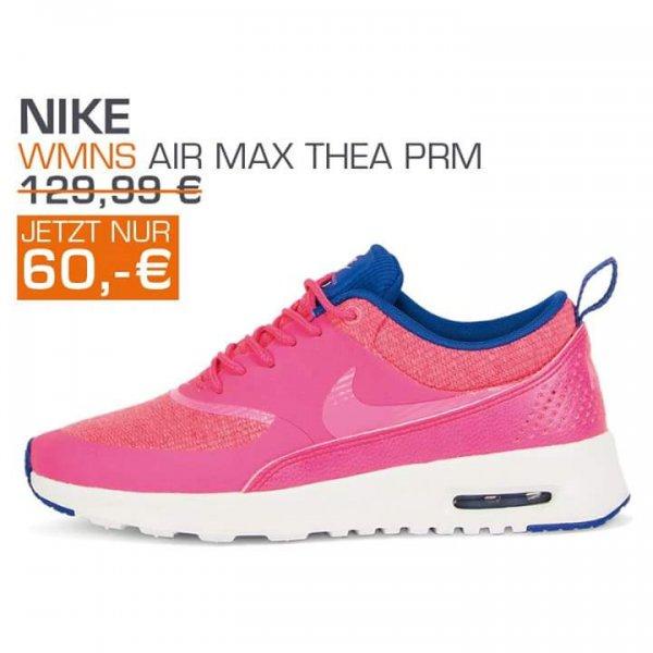 [Lokal Wetzlar] Snipes Neueröffnung im Forum am 21.05. - z. B. Nike Air Max Thea in pink für 60 € + Gratis Red Bull