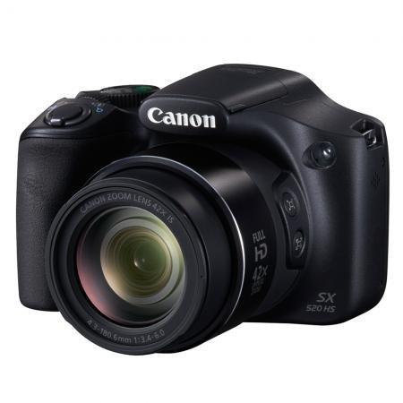 Canon PowerShot SX520 + 16GB Speicherkarte + 8GB Wifi-Karte - 179€ - redcoon.de