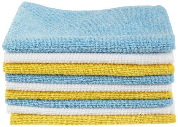 [Prime] 36 AmazonBasics Mikrofaser-Reinigungstücher für 9,43€ oder 48 Stück für 13,62€