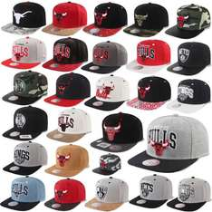 MITCHELL & NESS AND SNAPBACK CAP CHICAGO BULLS, 19,90 EUR @ ebay