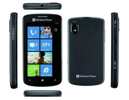 [allyouneed]ZTE Tania Windows Phone 7.5, Smartphone, GPS, Schwarz, OVP