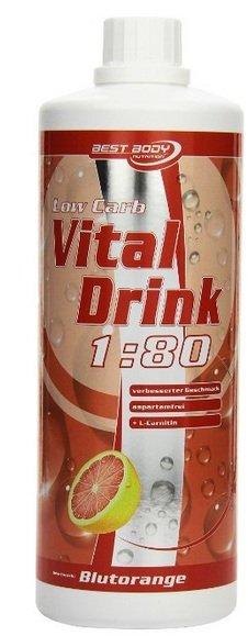Best Body Nutrition Vital Drink, Blutorange - 9,95€ ergibt 80 Liter!