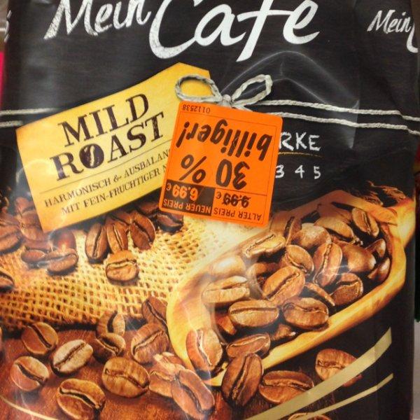 1kg Melitta Mein Café Mild Roast Kaffeebohnen @ Lidl (Lokal Würselen bei Aachen)